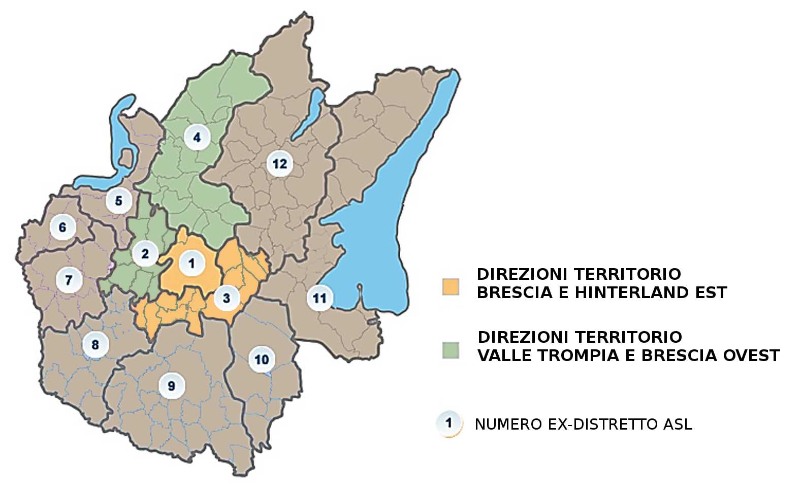 Mappa ASST